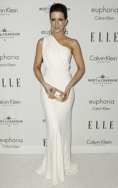 Kate Beckinsale! I love the white it is so regal!