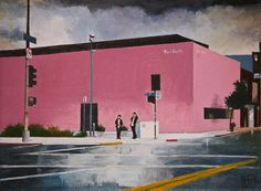 "Saatchi Online Artist John Tierney; Painting, ""Paul Smith, Melrose Ave, LA (#5)"" #art"