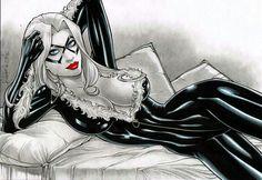 Ms Black Cat Marvel Gotta ♡ Her.
