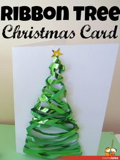 Ribbon Tree Christmas Card