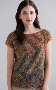 Victoria Top in Tempo Knitting Pattern