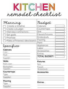 1000 images about homekeeping binder bliss on pinterest for Custom home design checklist