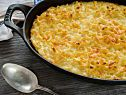 Classic Southern Macaroni and Cheese Recipe - made with ham and 1/2 the cheese as smoked gouda