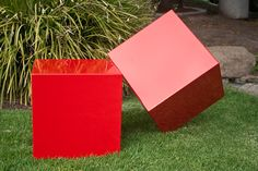 Red Boxes @ Sculpture With a Twist