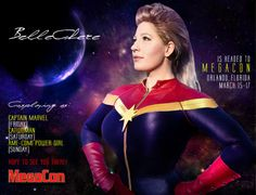 """I'm wicked excited to be heading to MegaCon this weekend! Anyone else going? When I was sent this pic, the first thing that came into my mind was: """"We're gonna get where we're. Hole In The Sky, Crazy Costumes, Thats The Way, Orlando Florida, Hole Punch, Catwoman, Captain Marvel, Wicked, Anna"""