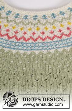 Ideas knitting patterns free jumper woman drops design for 2019 Knit Cardigan Pattern, Jumper Patterns, Drops Patterns, Baby Knitting Patterns, Easy Crochet Patterns, Grunge Look, Soft Grunge, 90s Grunge, Grunge Style