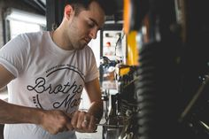 The Classic Tee by Brother Moto