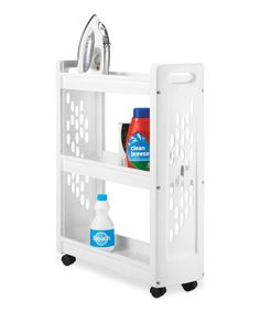 Look at this Three-Tier Laundry Cart on #zulily today!