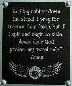HARLEY DAVIDSON prayer
