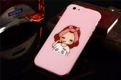 Süß Cartoon Handyhülle mit Metall Rand für iphone 5, iphone 6/6Plus - Prima-Module.Com