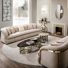 These exclusive sofas belong to a range of luxury brands like Boca do Lobo, Brabbu, Fendi Casa, Koket, Juliettes Interiors and Bentley Home. Luxury Sofa, Luxury Furniture, Sofa Furniture, Luxury Bedding, Modern Furniture, Living Room Sofa, Living Room Interior, Dining Room, Dining Chairs