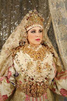 Mariée de Tétouan - Maroc                                                                                                                                                                                 Plus