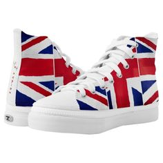 Brexit UK Printed Shoes