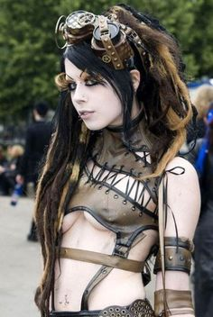 Steampunk girls are a whole different breed (30 Photos)
