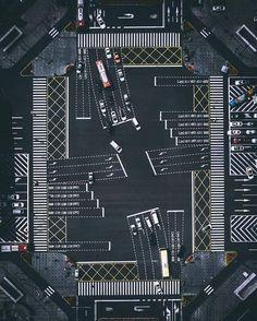 Incredibly complex crossroads in Chengdu China Chengdu, Aerial Photography, Digital Photography, Sichuan China, Korea Design, Set Design Theatre, Tim Beta, Urban Fabric, Z Photo
