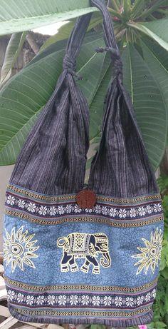 Dragon Zipper Bag with Pink Chevron Lining Handmade