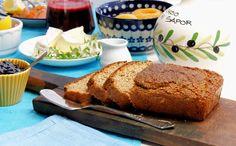 szczypta smaQ: Dietetyczny chleb bez mąki