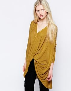 Enlarge Vero Moda Claudetta Oversize Twist Top