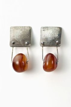 Holly Masterson Carnelian Bead Earrings » Jewelry » Santa Fe Dry Goods | Clothing and accessories from designers including Issey Miyake, Rundholz, Yoshi Yoshi, Annette Görtz and Dries Van Noten