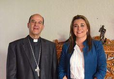 Realiza visita de cortesía Campos con Constancio Miranda   El Puntero