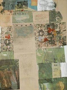 Robert Rauschenberg, Deposit from America: The Third Century, 1975 [MoMA, New York, NY. Robert Rauschenberg, Art Pop, Abstract Expressionism, Abstract Art, Pop Art Movement, Jasper Johns, Willem De Kooning, Famous Art, Emil Nolde