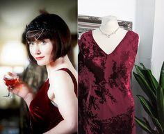 Ball Dresses, Satin Dresses, Ball Gowns, Prom Dresses, 1920s Fashion Dresses, Vintage Dresses, Art Deco Dress, Bias Cut Dress, Red Velvet Dress