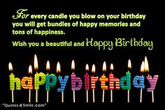 Happy Birthday Greeting http://www.quotes4smile.com/category/birthday-quotes/