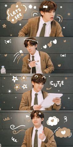 Kim Taehyung Funny, V Taehyung, Bts Jungkook, Foto Bts, Bts Photo, Boy Scouts, Taekook, Taehyung Photoshoot, Bts Beautiful