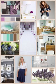 Blog Boss Oct/Nov 2014 e-course, color season mood board by Patty Tower// JesusGal