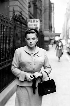 a serious Judy Garland