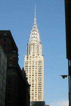 NYC: Chrysler Building -- My favorite building ever!