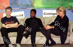 Diana, Princess Of Wales, In Her Role As Patron Visits 'centrepoint' To See The 'cold Weather Project' For Homeless Young People In London's Red-light District,