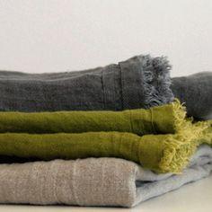 Image of Edith Linen Throw Blanket