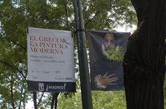 """Cartel de la Exposición """"El Greco y la Pintura Moderna"""" en El Museo del Prado de Madrid.  #Cartel #Affiche #Arterecord 2014 https://twitter.com/arterecord"""