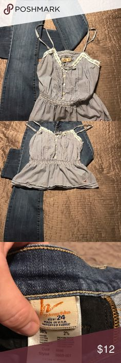 Citizens For Humanity Low Waist Boot Cut 24 Mint condition low waist Citizens for Humanity jeans size 24.  Looks great with everything from this Hollister Cami to your favorite sweater. Smoke&Oder free home. #citizensforhumanity,#jeans,#24,#boho#completelooks Citizens of Humanity Jeans Straight Leg
