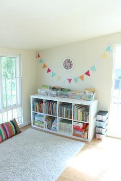 Our Playroom and Creative Space - Mama. Our Playroom and Creative Space - Mama. Small Playroom, Colorful Playroom, Office Playroom, Playroom Decor, Bedroom Decor, Playroom Ideas, Playroom Design, Modern Playroom, Bedroom Ideas