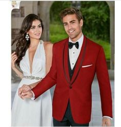 New Arrival Designs Italian Red Black Wedding Men Suit Slim Fit 3 Piece Tuxedo Prom Suits Custom Groom Blazer Terno Masculino D0