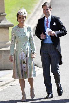 Pippa Middleton hehkuu häissä vaaleanvihreissään - raskausvatsaa ei vielä näy