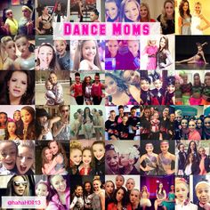 A collage of all of the Dance Moms girls all grown up: Chloe Lukasiak, Nia Frazier, Paige Hyland, Brooke Hyland, Maddie Ziegler, Mackenzie Ziegler, Kendall Vertes, Payton Ackerman, Kalani Hilliker, and Gianna. Credit goes to @hahaH0ll13