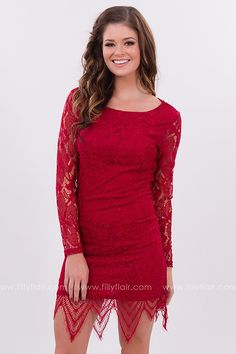 Heaven Sent Lace Dress in Red Dresses For Sale e23a6a2a3