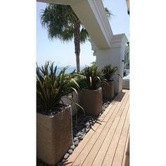 En proceso  #DESIGN #home #homedesign #terrace #terraza #gardendesigner #jpdesigner #ateliervierkant #Marbella #stones #paisajismo #luxury #wood #bamboo