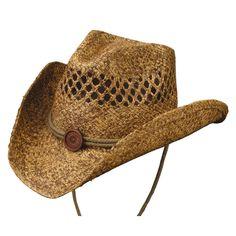 Tulsa Western Vented Straw Hat