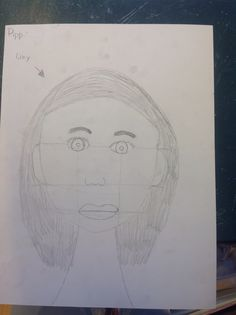 Portret van Lizy.
