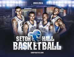 Seton Hall Basketball Publications | Sports Marketing Creative