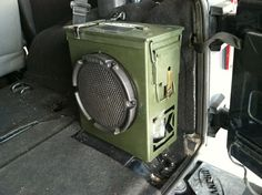 Custom Ammo Can Sub Box