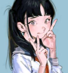 """魚見 on Twitter: """"… """" Me Anime, Manga Anime, Art And Illustration, Anime Art Girl, Manga Art, Pretty Art, Cute Art, Aesthetic Art, Aesthetic Anime"""