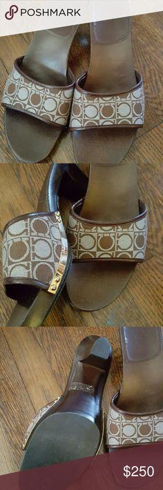 Selling this Salvatore Ferragamo Beautiful clogs in my Poshmark closet! My username is: fludrey. #shopmycloset #poshmark #fashion #shopping #style #forsale #Salvatore Ferragamo #Shoes