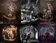 Picasso Light Art
