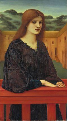 """Vespertina Quies"" - Edward Burne-Jones (1893)"
