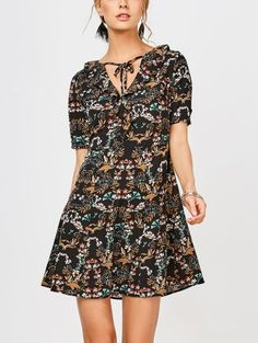 SHARE & Get it FREE | Ruffles Floral Vintage Dress - FloralFor Fashion Lovers only:80,000+ Items • New Arrivals Daily Join Zaful: Get YOUR $50 NOW!